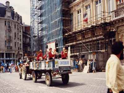 Bill Barnacle Jazz Band in Reims 1992