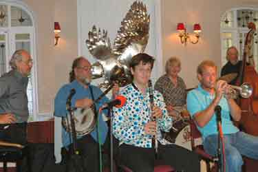 Black Snake Jazz Band - Falcon Hotel - Bude Jazz Festval 2007 click picture to activate